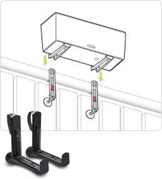 LECHUZA Крепление для балконного ящика